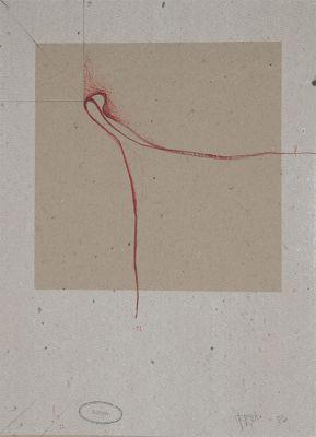 JOSEP VERNIS (Vic, 1940).Untitled, Èczema 1980.