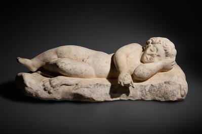 Eros durmiente.Eros durmiente