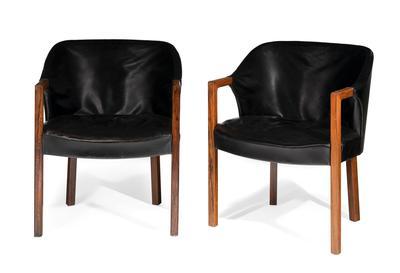 JACOB KJÆR (Denmark, 1896 - 1957) for BRAMIN.Pair of armchairs.