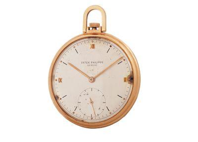 Reloj de bolsillo PATEK PHILIPPE en oro amarillo de 18 kts.