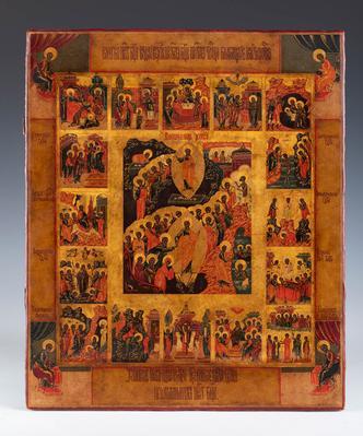 Escuela rusa de los viejos creyentes, finales del s.