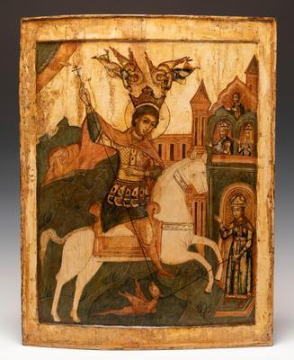 Icono del Norte de Rusia, siglo XVIII.