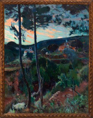 JOAQUIM MIR I TRINXET (Barcelona, 1873 - 1940).