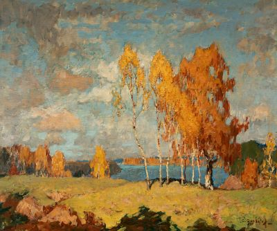 KONSTANTIN IVANOVICH GORBATOV (Russia, 1876- Berlin, 1945).