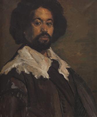 """Juan de Pareja"", 1980.  Luis Tusquellas i Abellà"