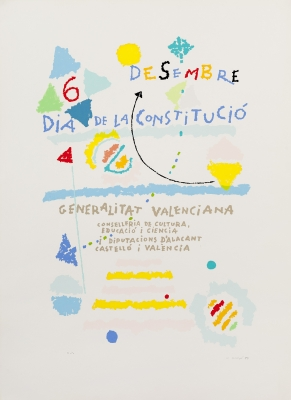 """6 desembre. Día de la Constitucíó"" Manuel Hernández Mompó"