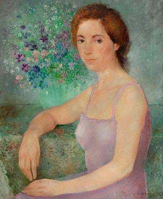 OLGA SACHAROFF (Tiflis, Georgia, 1889 – Barcelona, 1967).