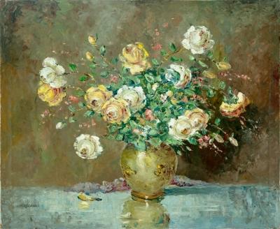 """""""Flores"""", 1974. KOSCAYA, Enrique"""