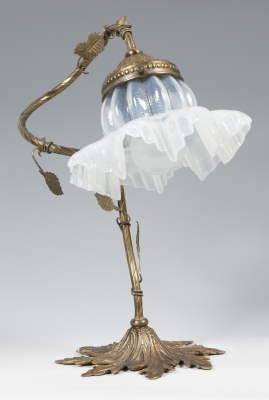 Lámpara modernista, siglo XX