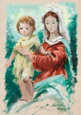 """Madre e hijo"". GUILLEM FRESQUET BARDINA"