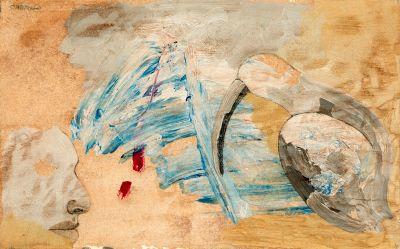 JORGE CASTILLO CASALDERREY (Pontevedra, 1933). Sin título.