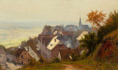 WALTER MORAS (Germany, 1856-1925).