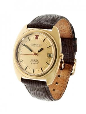 Reloj OMEGA Constellation Chronometer Electronic 300HZ para caballero.