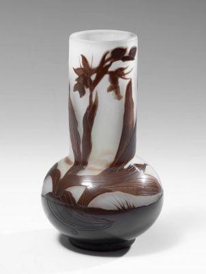 ÉMILE GALLÉ (Nancy, France, 1846 - 1904).Vase