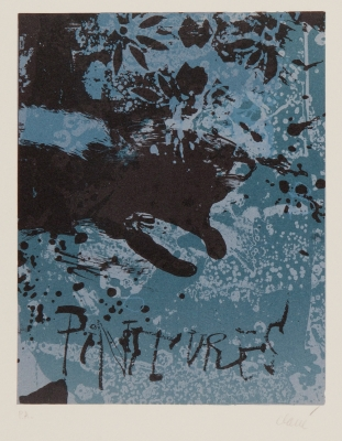 """Pintures"", 1971. ANTONI CLAVÉ I SANMARTÍ"