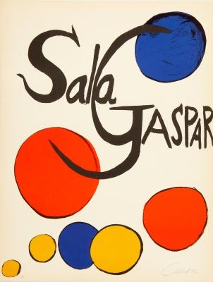 """Sala Gaspar"". ALEXANDER CALDER"