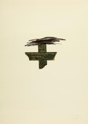 """""""Llambrec Material"""", 1975. ANTONI TÀPIES PUIG"""