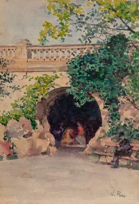 JULIAN DEL POZO Y LA ORDEN (Ciudad Real, 1849-Barcelona, 1932).