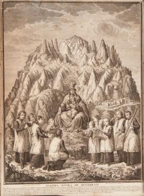 """Nuestra Señora de Monserrate"" FLAUGIER, José Bernardo"