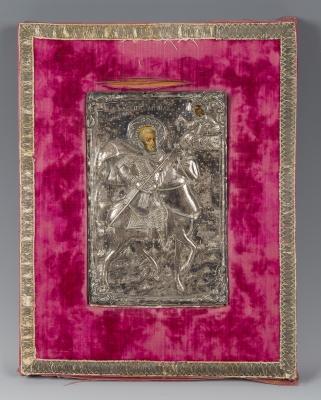 Icono griego, s.XIX-XX.Icono griego, s.XIX-XX
