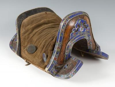 Silla de montar, Tibet, s. XVIII