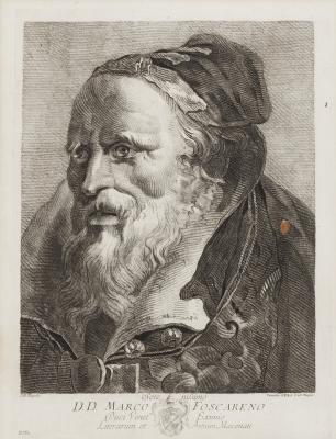 Grabado. Giovanni Battista Tiépolo .
