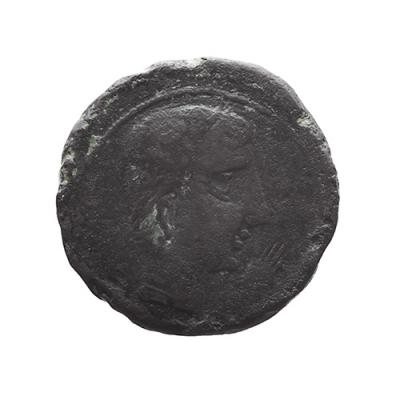 As de bronce de Cástulo (Linares), siglo II a. C