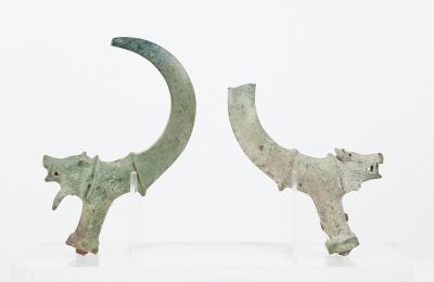 Pareja de pasarriendas romanos, siglos II-III d. C