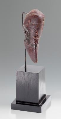 Cabeza procedente de la Magna Grecia, siglos VI-V a. C