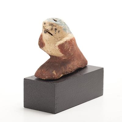 Figura de halcón; Egipto, Baja Época, 664-323 a. C