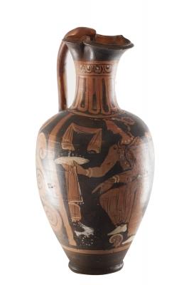 Oinochoe; Magna Grecia, siglo IV a. C