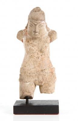 Figura Maya; México, 700-950. Terracota