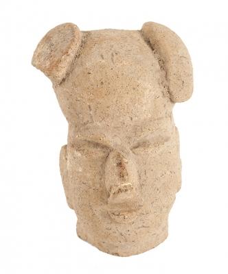Cabeza Olmeca; México, 1200 – 800 a. C