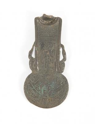 Contrapeso Menat de un Aegis; Antiguo Egipto, Baja época, ca.