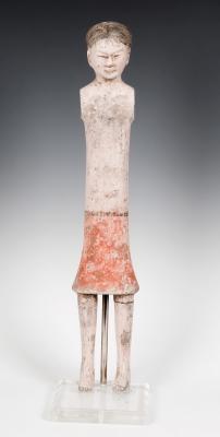 """""""Stick man""""; China, dinastía Han, 206 a.C."""