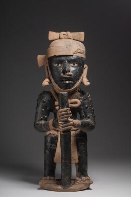 Figura de guerrero. Veracruz, México, 600 - 900 d.