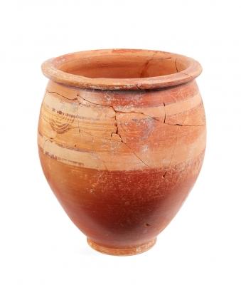 Urna ibérica, siglos III-II a. C