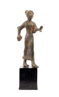 Figura femenina etrusca, siglo VI a. C