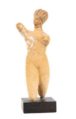 Female figure; Greece, 4th century B.C.