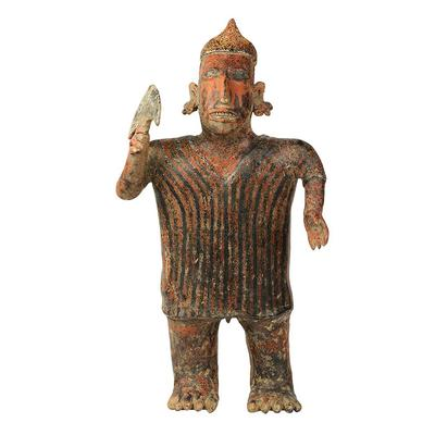 Man of the Nayarit Culture, Ixtlán del Río. Western Mexico, 100 BC - 200 AD.