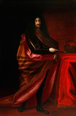 """""""Leopoldo I de Habsburgo"""" Escuela centroeuropea del siglo XVII."""