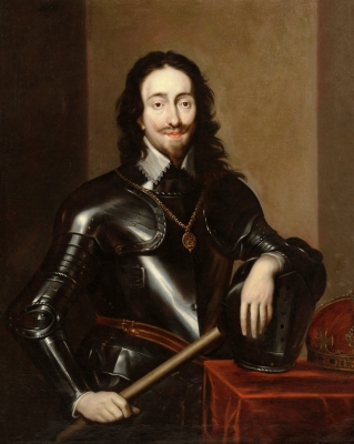 """""""Retrato de Carlos I de Inglaterra"""" Taller de VAN DYCK, Anton"""