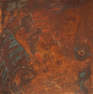"""Oxidation LVIII"", 2002. MESTRES ESTARTÚS, Jaume"