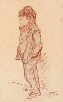 """Mozo"", 1908. NONELL I MONTURIOL, Isidre"