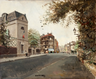 """Vista de París"". RAFAEL DURANCAMPS I FOLGUERA"