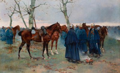 JOSÉ CUSACHS Y CUSACHS (Montpellier, France, 1851 - Barcelona, 1908).