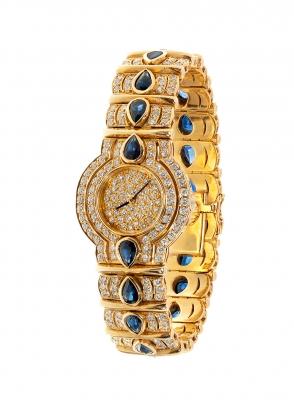 Reloj joya en oro amarillo de 18 kts.