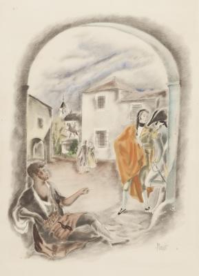 """""""Escena de exterior"""".  José Luis Florit Rodero"""