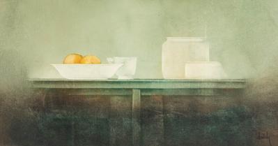 Josép Doménech i Sanchez. Composition. Oil on canvas.