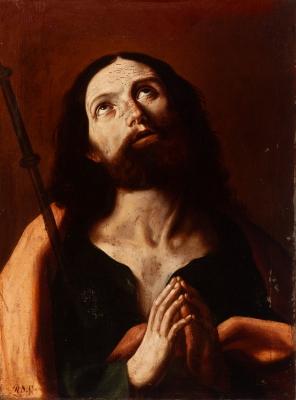 """Ecce Homo"". Escuela italiana del siglo XVII."